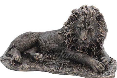 Outdoor Decorative Life Size Bronze Lion Sculptures for sale