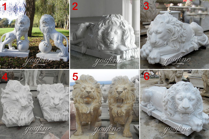 lion statue for sale