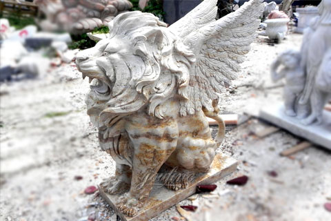 hot selling marble lion statue for sale